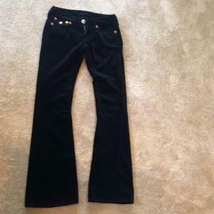 True Religion Velvet Pants